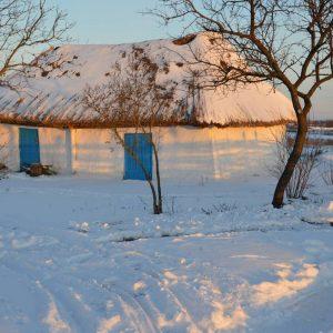 Зима на хуторе Галушковка. Клуня